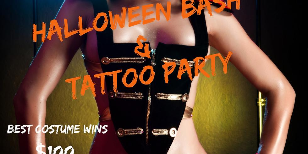 Halloween Bash & Tattoo  Party