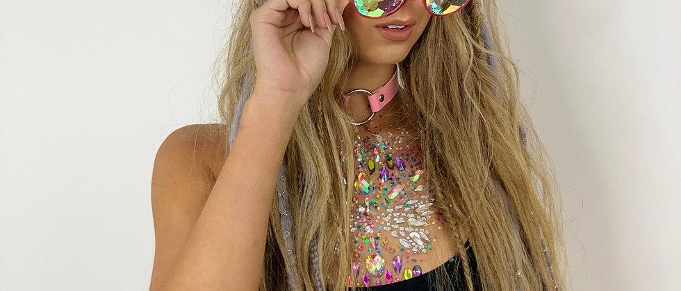 Rave Shades - Pink Frame