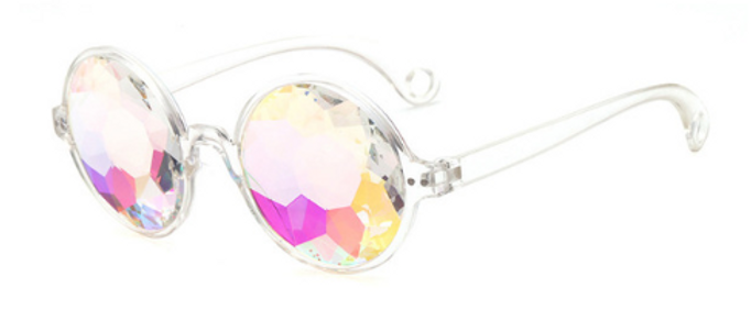 Rave Shades - Clear Frame