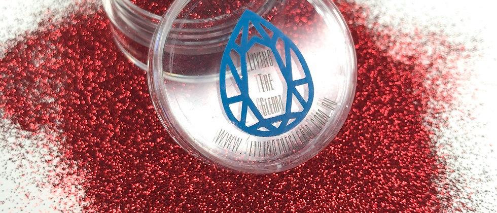 10Gram Ruby Rose Glitter Loose - Ultra Fine .07