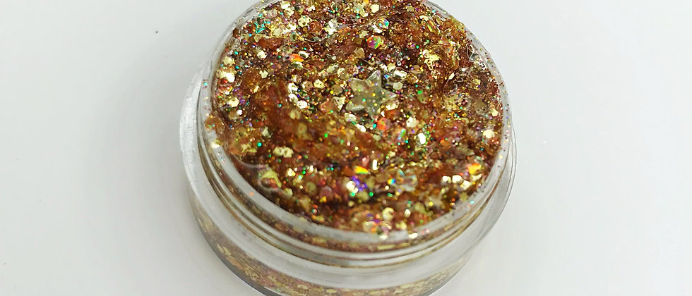 10Gram Rock n Rose Gold Body/Hair Glitter Gel