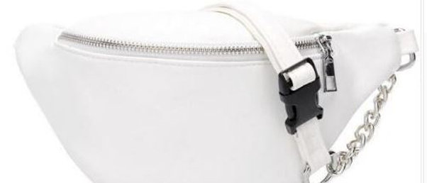 Basic B*tch Waist Belt - White