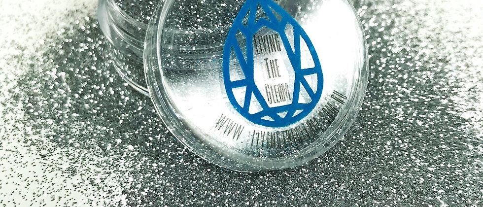 10Gram Silver Dusk Glitter Loose - Ultra Fine