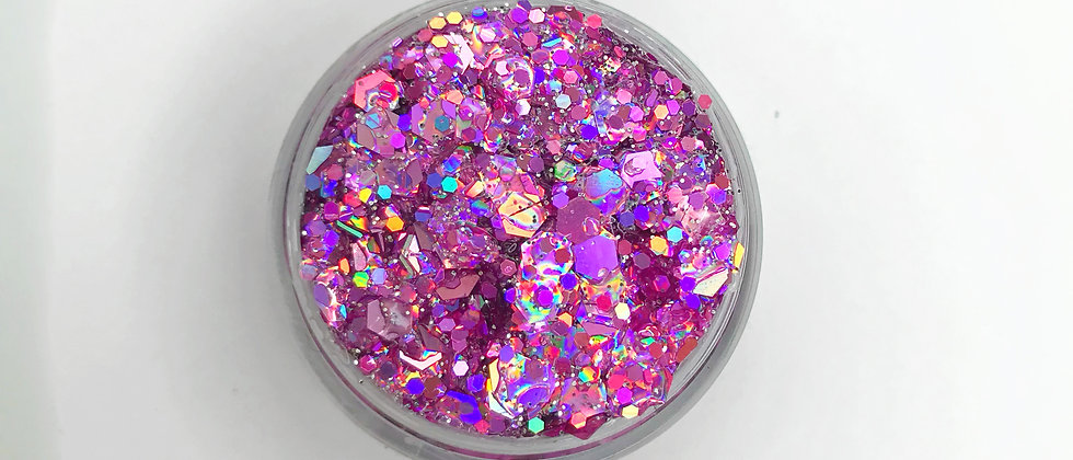 10Gram Paint the Town Pink Body/Hair Glitter Gel