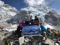 Everest, basecamp, momo trekking, hiking