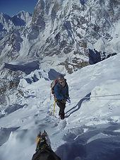 peak climbin
