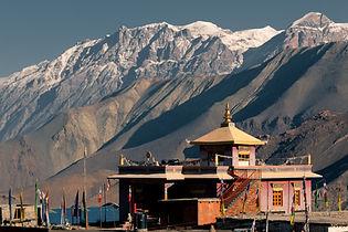 Annapurna, tempel, circuit