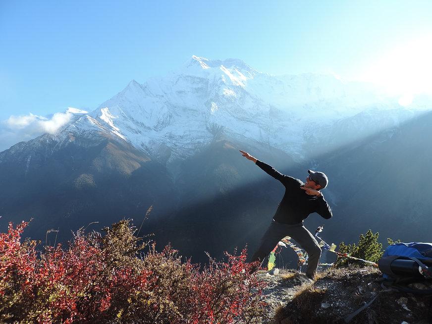 annapurna, nepal, momo trekking