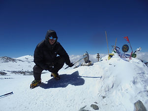 lenin peak, berg beklimmen