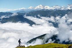 langtang, gosainkund, trekking, wolkn