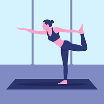 vector-natarajasana-yoga-pose-illustrati