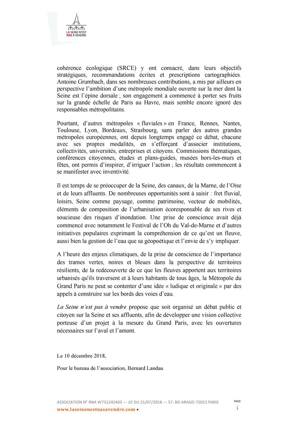 lettre ouverte aux elus metropolita ins,