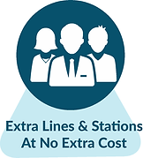 Extra Phone Lines & Stations At No Extra Cost