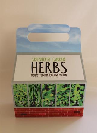 Greenhouse Garden Herbs