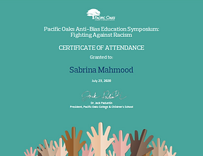Pacific Oaks Symposium Certificate.png