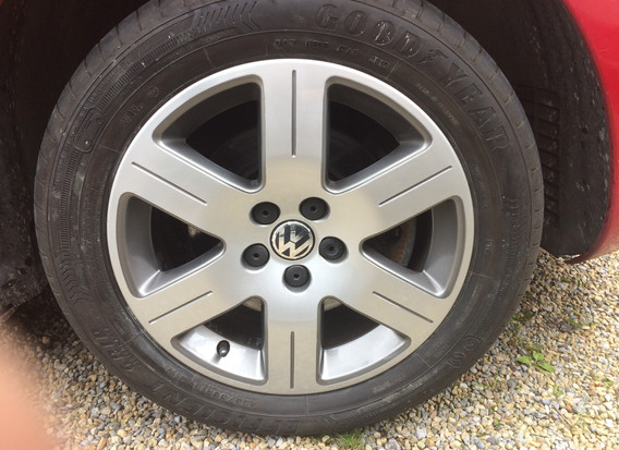 VW Alloy Wheel Lacquer Flaking
