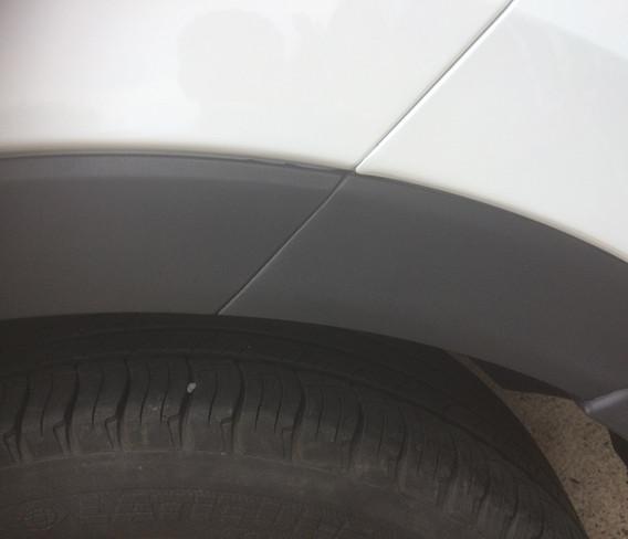 Textured Arch Trim Repair