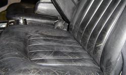 Very Tired Passenger Seat