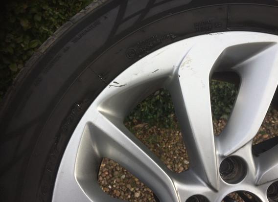 Alloy Wheel Scratch