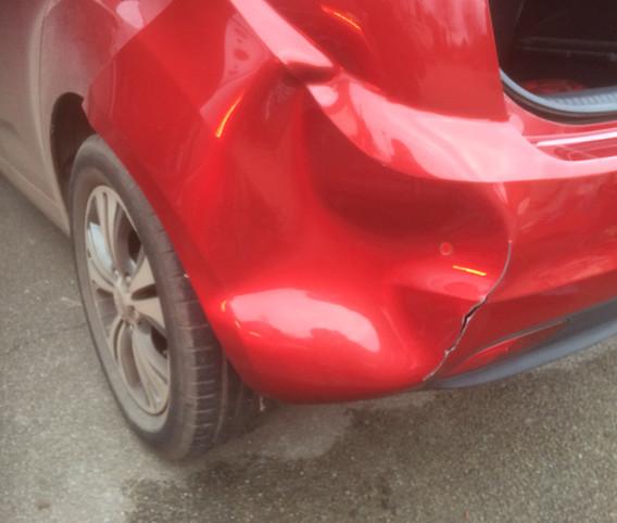 Kia Bumper Repair