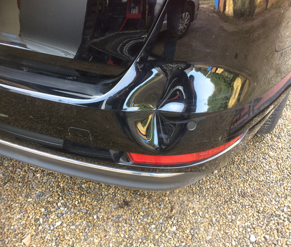 Audi A4 Bumper Bash