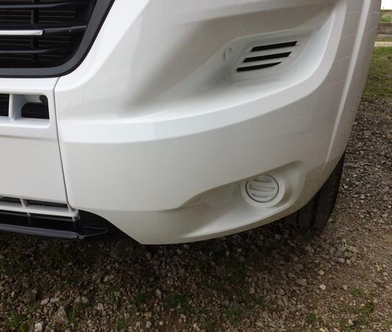 Motorhome Bumper scrape