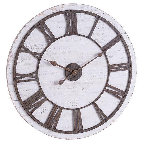 Large Rustic Numerals Clock