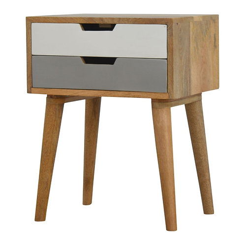Two Tone Sundsvall Bedside Table