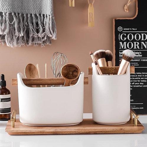 Ceramic Storage Bucket