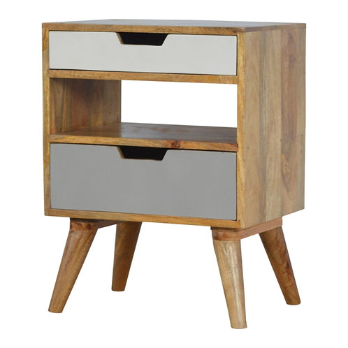 Cut Out Sundsvall Bedside Table