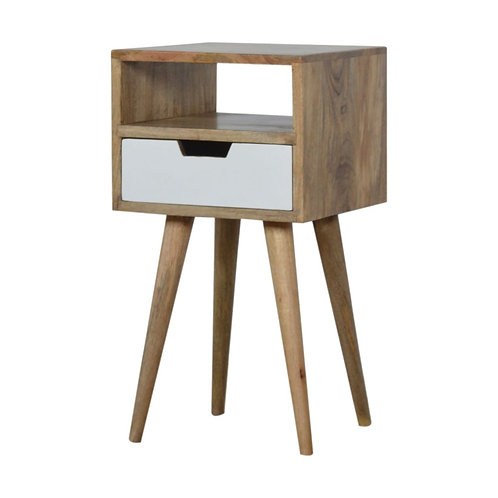 Petite Hand Painted Bedside Table