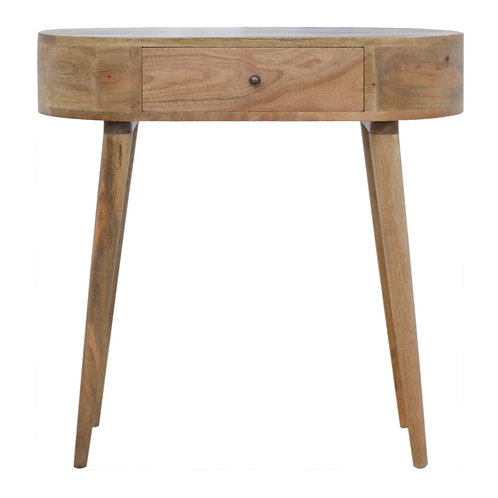 Petite Rounded Asak Console Table