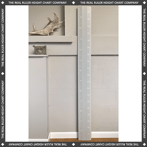Lamp Room Grey Ruler Height Chart