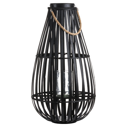 Large Standing Rattan Orebro Lantern