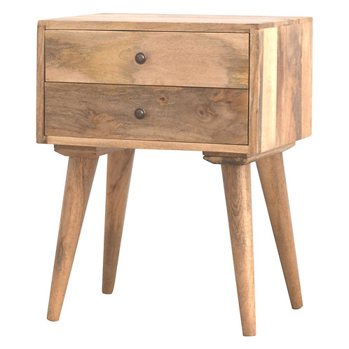 Two Drawer Nordkisa Bedside Table