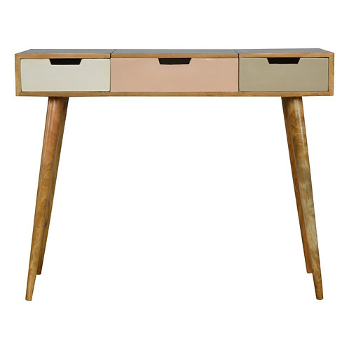 Bergen Dressing Table with Folding Mirror