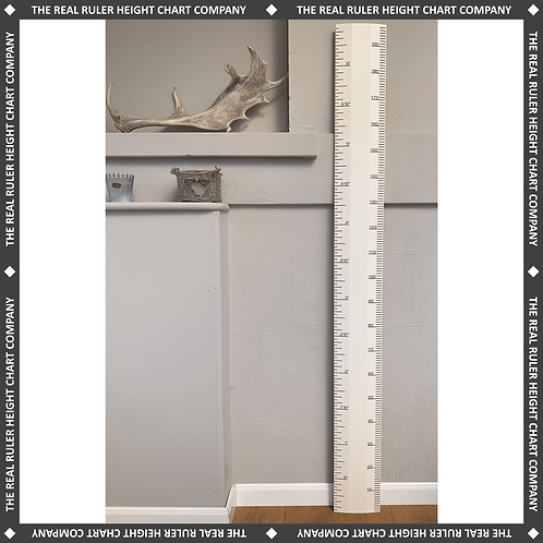 Pointing Ruler Height Chart