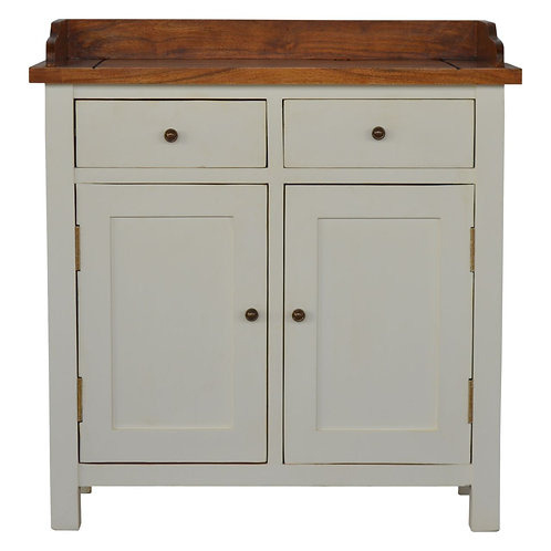 Painted Solid Wood Kitchen Cabinet