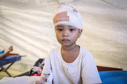 Philippines Typhoon victim