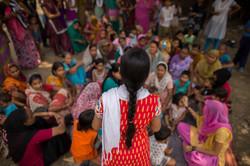 Delhi Slums maternal care