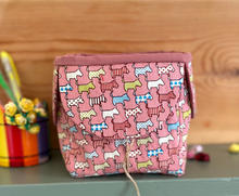 Pink dog gift box