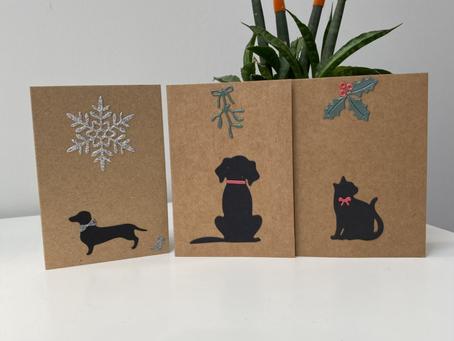 Mini super cute Christmas cards