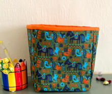 Small fabric boxes