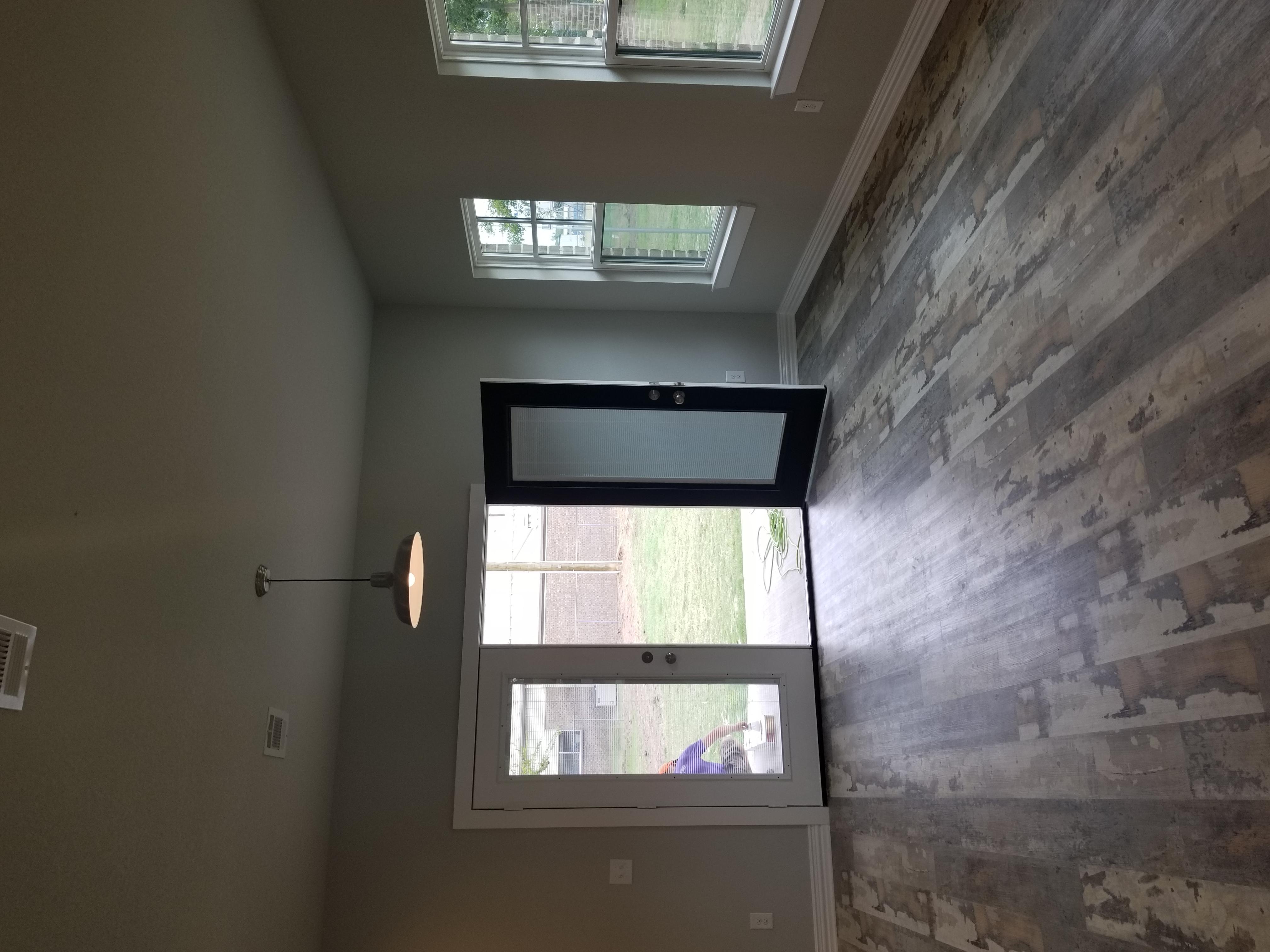 Reclaimed Barnwood Vinyl Plank Floor