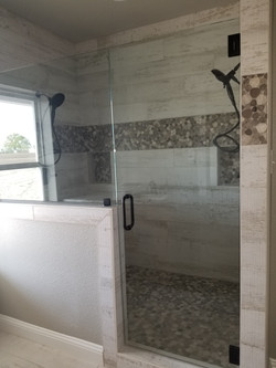 Master double head shower