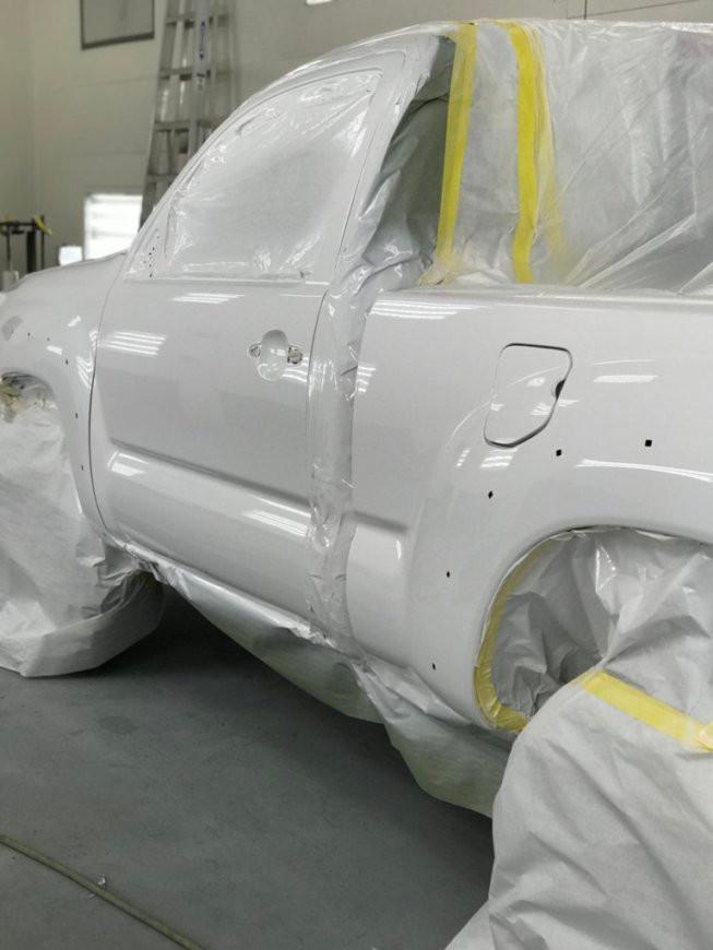Truck straightening & repair