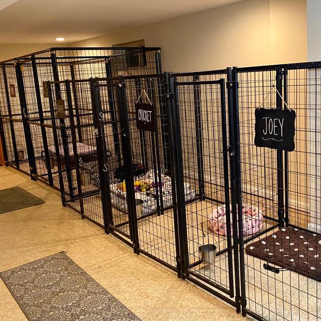 Indoor sleeping quarters