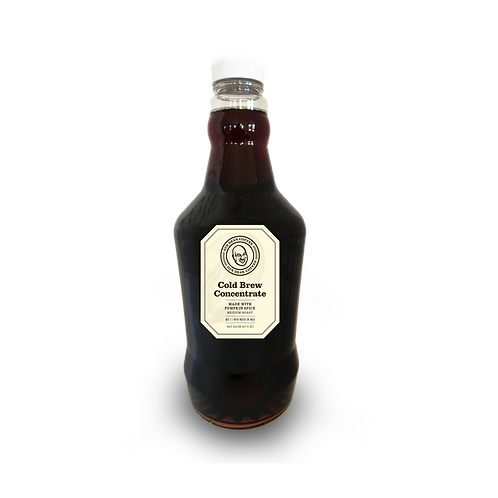 Fall Flavors Cold Brew Concentrate