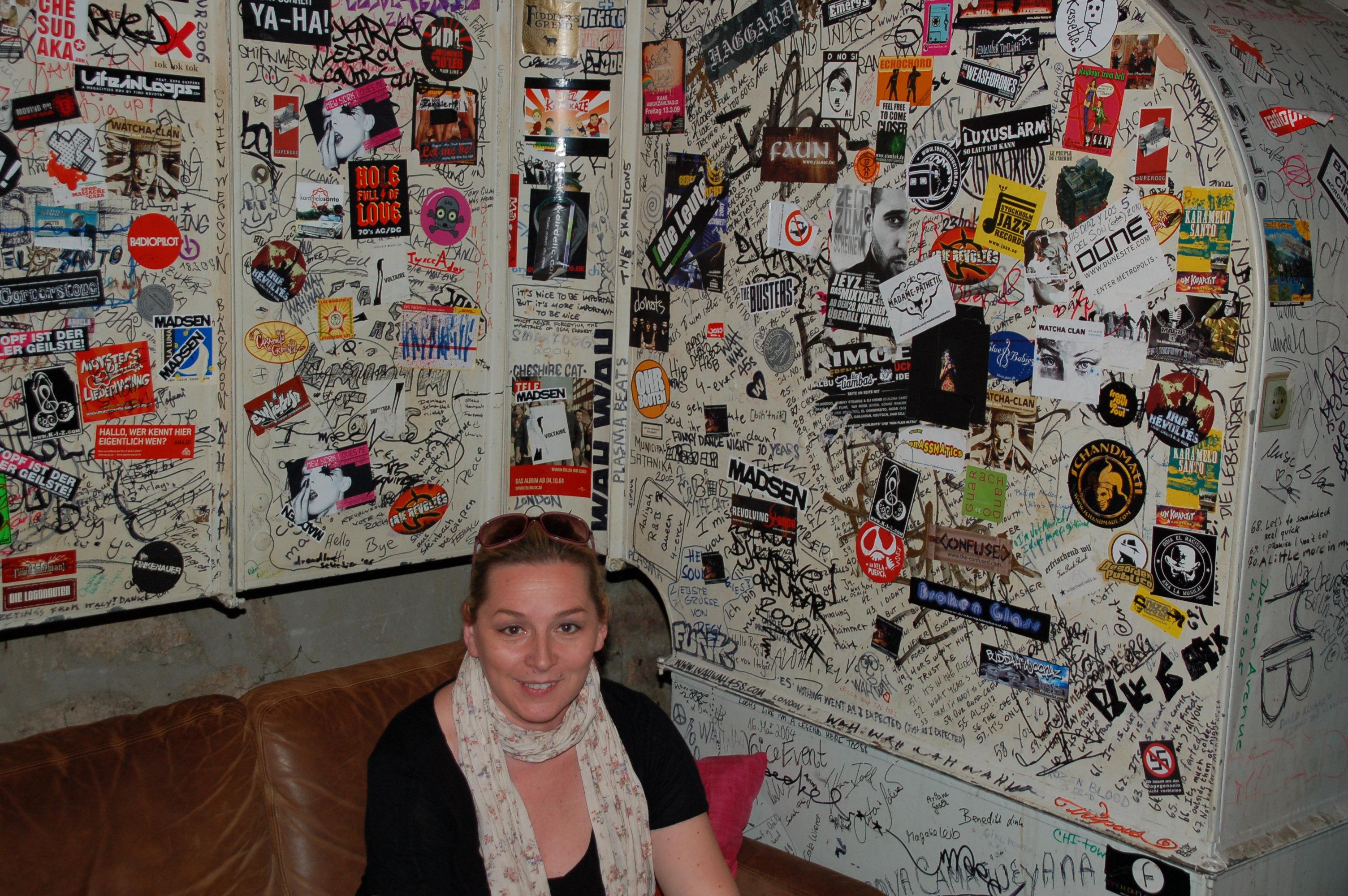 Backstage im Jazzhaus Freiburg