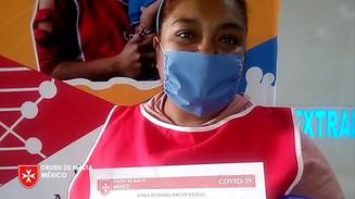 Testimonios de beneficiarias del programa Salva a un Niño del SIDA, acciones que se llevan a cabo ante la pandemia del coronavirus COVID-19